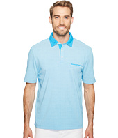 Thomas Dean & Co. - Cotton Overdye Print Polo