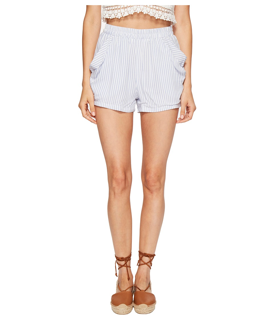 Bishop + Young - Stripe Drapey Shorts