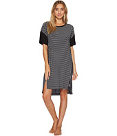 DKNY - Striped Short Sleeve Sleepshirt