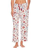 Lucky Brand - Printed Tassel Tie Pajama Pants