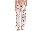 Lucky Brand Printed Tassel Tie Pajama Pants