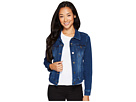 Liverpool Liverpool Petite Classic Denim Jacket in Powerflex Knit Denim