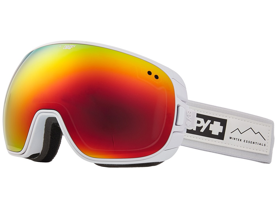 Spy Optic Doom (Essential White/Happy Gray Green/Red Spectra/Happy Yellow/Lucid) Snow Goggles