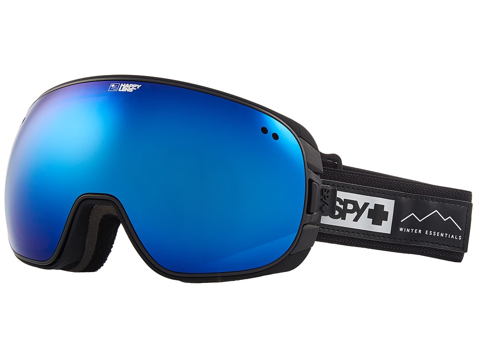 Spy Optic Doom (Essential Black/Happy Rose/Dark Blue Spectra/Happy Light Gray Gr) Snow Goggles