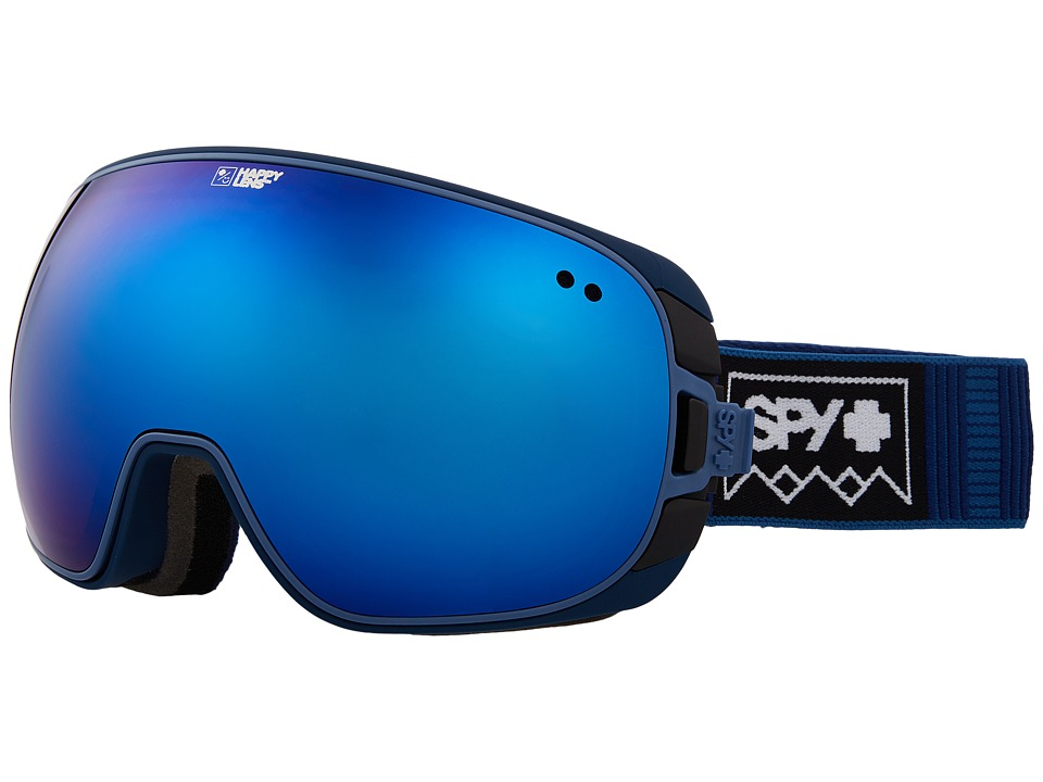 Spy Optic Doom (Deep Winter Navy/Happy Rose/Dark Blue Spectra/Happy Pink/Lucid B) Snow Goggles