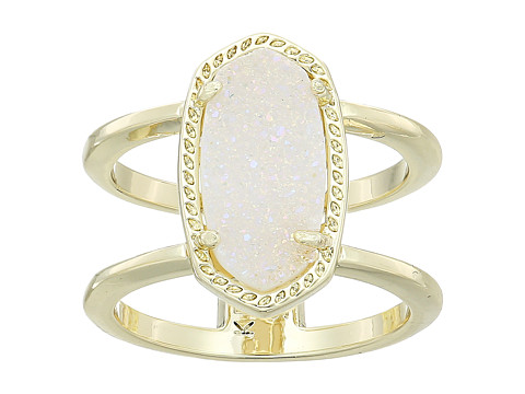 Kendra Scott Elyse Ring - Gold/Iridescent Drusy