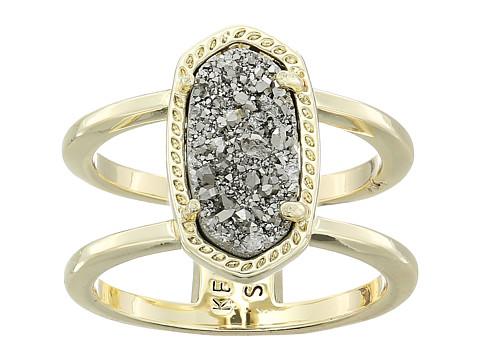 Kendra Scott Elyse Ring - Gold/Platinum Drusy