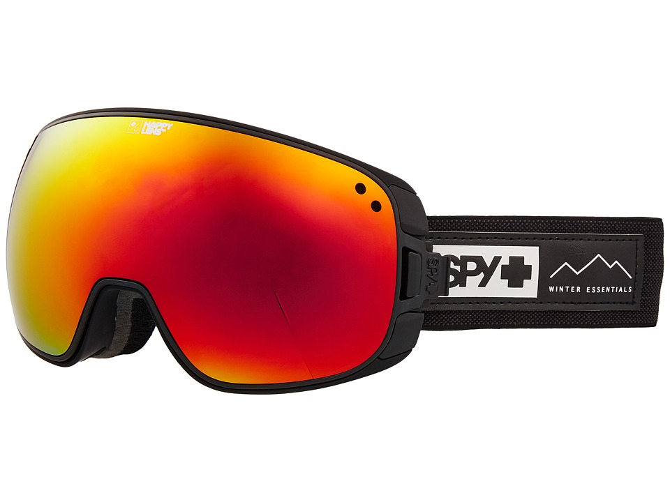 Spy Optic Bravo (Essential Black/Happy Gray Green/Red Sepctra/Happy Yellow/Lucid) Snow Goggles