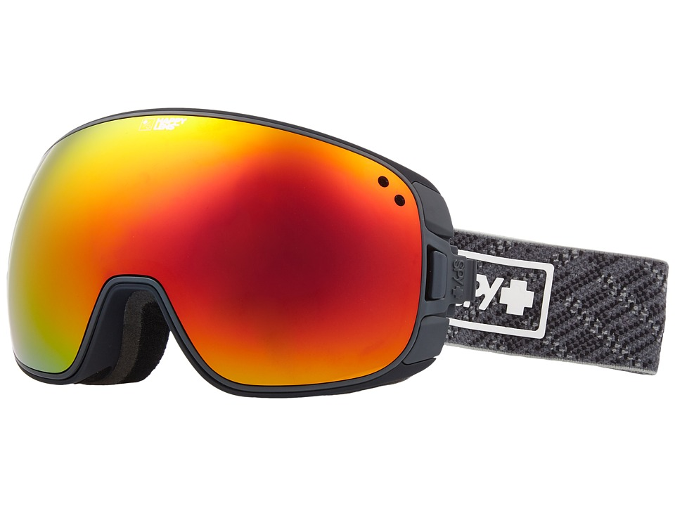 Spy Optic Bravo (Spy Knit Gray/Happy Gray Green/Red Sepctra/Happy Yellow/Lucid Gr) Snow Goggles