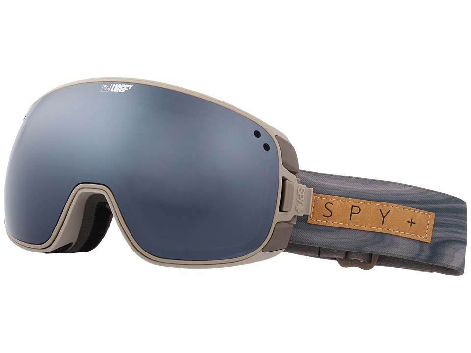 Spy Optic Bravo (Spy/Helen Schettini/Happy Gray Green/Silver Sepctra/Happy Yellow) Snow Goggles