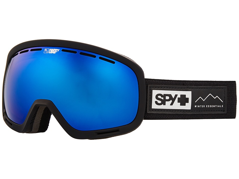 Spy Optic Marshall (Essential Black/Happy Rose/Dark Blue Sepctra/Happy Light Gray Gr) Snow Goggles