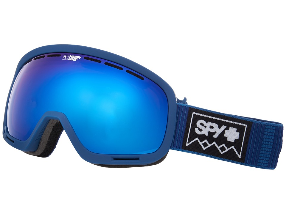 Spy Optic Marshall (Deep Winter Navy/Happy Rose/Dark Blue Sepctra/Happy Pink/Lucid B) Snow Goggles