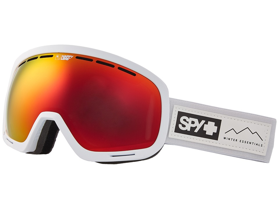 Spy Optic Marshall (Essential White/Happy Gray Green/Red Sepctra/Happy Yellow/Lucid) Snow Goggles