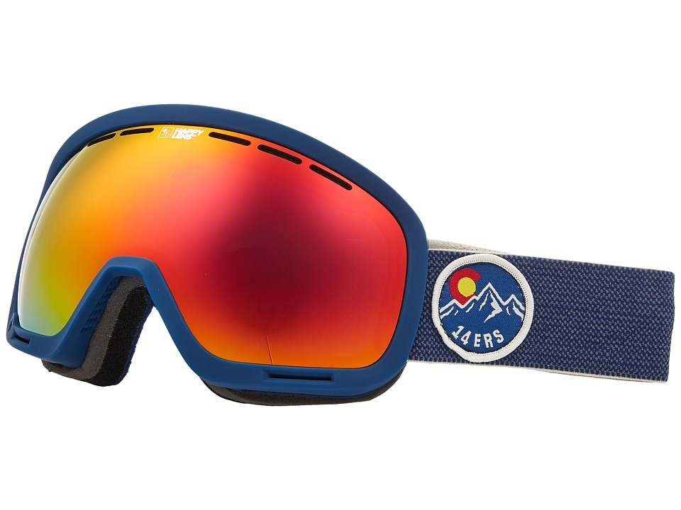 Spy Optic Marshall (Spy/Colorado/Happy Gray Green/Red Sepctra/Happy Yellow/Lucid Gre) Snow Goggles
