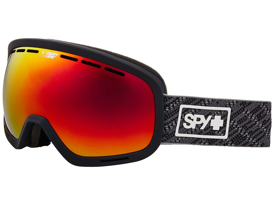 Spy Optic Marshall (Spy Knit Gray/Happy Gray Green/Red Sepctra/Happy Yellow/Lucid Gr) Snow Goggles