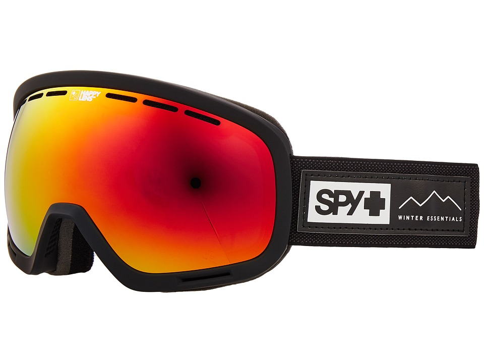 Spy Optic Marshall (Essential Black/Happy Gray Green/Red Sepctra/Happy Yellow/Lucid) Snow Goggles