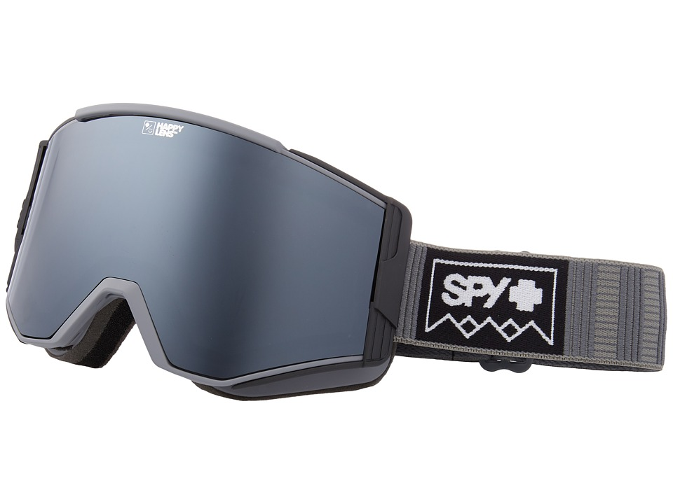 Spy Optic Ace (Deep Winter Gray/Happy Gray Green/Silver Sepctra/Happy Yellow/Lu) Goggles