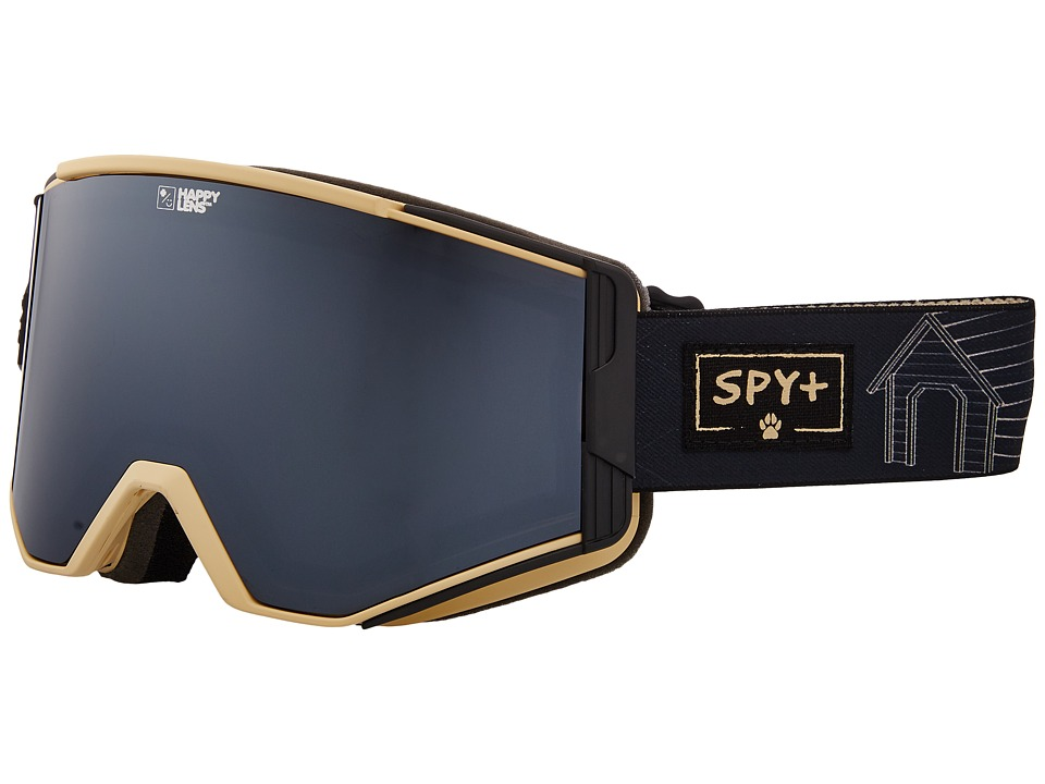 Spy Optic Ace (Spy/Phil Casabon/Happy Gray Green/Silver Sepctra/Happy Yellow/Lu) Goggles