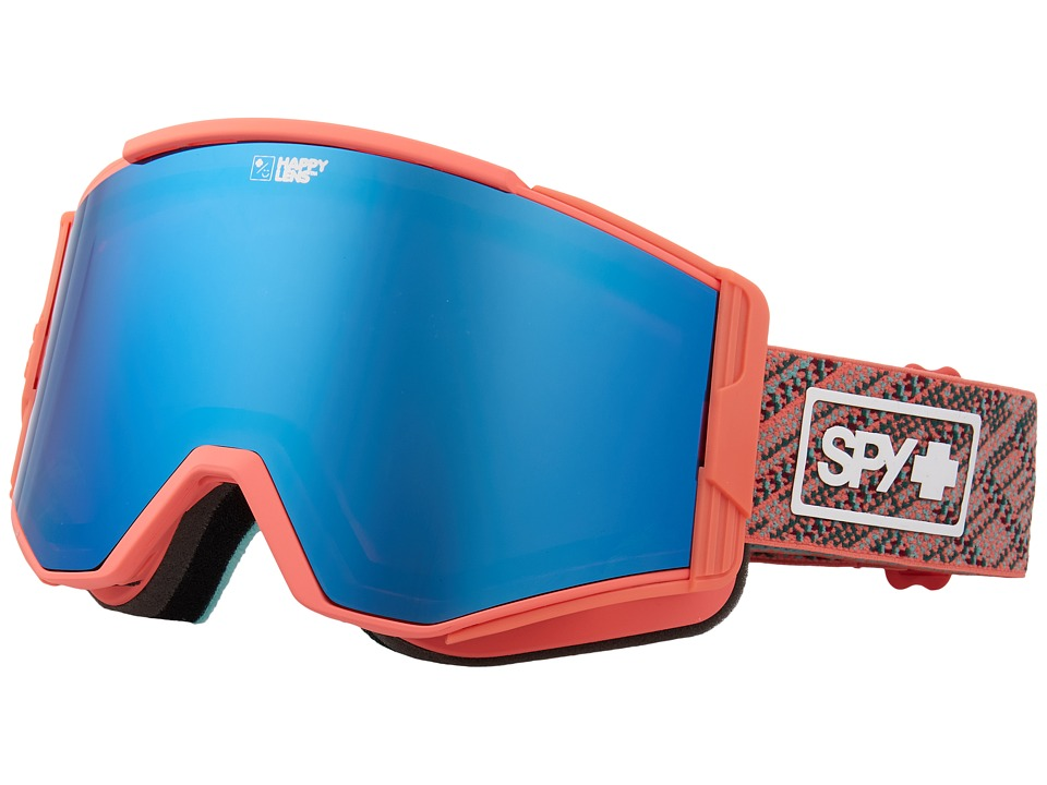 Spy Optic Ace (Spy Knit Blush/Happy Rose/Darl Blue Sepctra/Happy Pink/Lucid Blu) Goggles