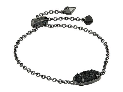 Kendra Scott Elaina Bracelet - Gunmetal/Black Drusy