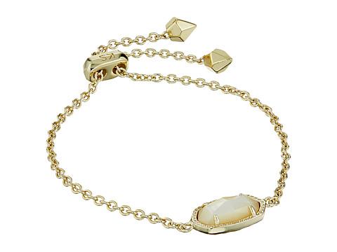 Kendra Scott Elaina Bracelet - Gold/Ivory Mother-of-Pearl