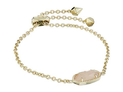 Kendra Scott Elaina Bracelet - Gold/Rose Quartz