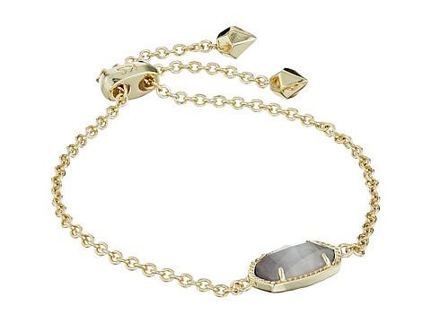 Kendra Scott Elaina Bracelet - Gold/Slate Cats Eye