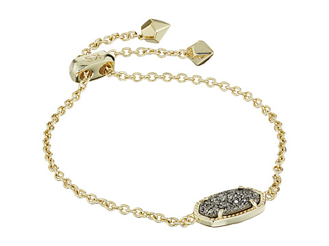Kendra Scott Elaina Bracelet - Gold/Platinum Drusy