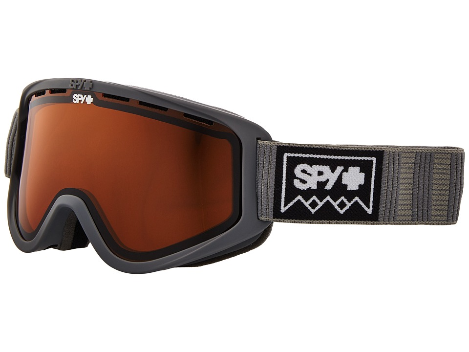 Spy Optic Woot (Deep Winter Gray/Persimmon) Goggles