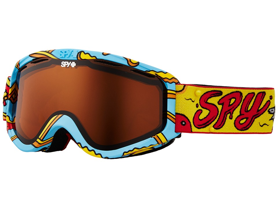 Spy Optic Cadet (Pizza V. French Fry/Persimmon) Goggles