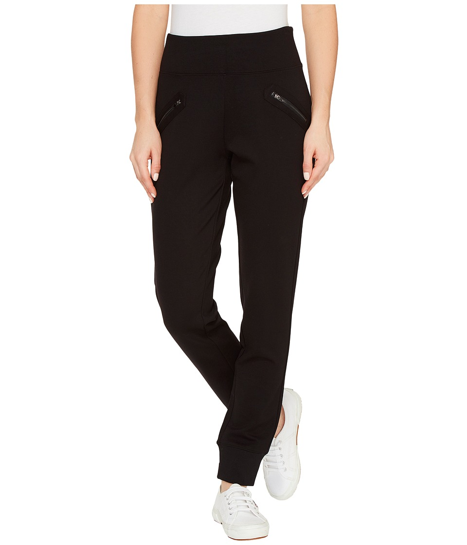 Jag Jeans Addie Jogger in Double Knit Ponte in Black (Black) Women