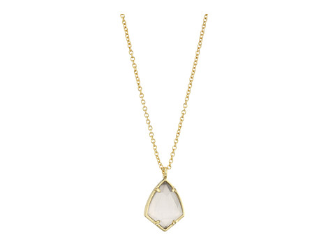 Kendra Scott Cory Necklace - Gold/Slate Cats Eye