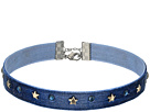 Velvet with Stars Choker Necklace