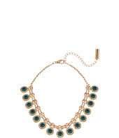 Steve Madden - Floral Charm Chain Choker Necklace