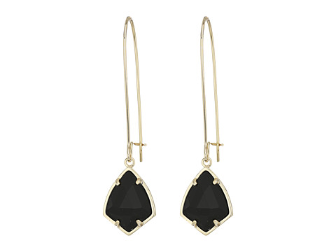 Kendra Scott Carinne Earrings - Gold/Black