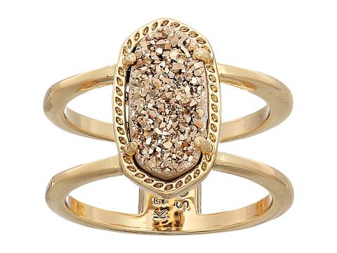 Kendra Scott Elyse Ring - Rose Gold/Rose Gold Drusy