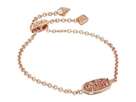 Kendra Scott Elaina Bracelet - Rose Gold/Rose Gold Drusy