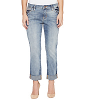Jag Jeans Petite - Petite Alex Boyfriend Platinum Denim in Saginaw Blue