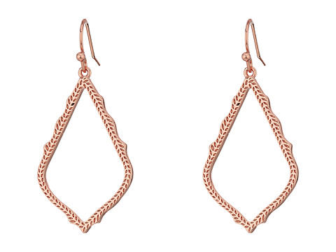 Kendra Scott Sophia Earrings - Rose Gold/Metal