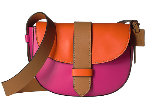 M Missoni Bicolor Leather Crossbody Bag
