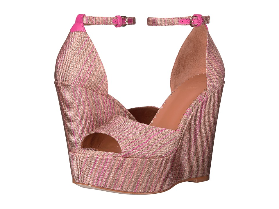 M Missoni Lurex Spacedye Wedge (Blush) Women