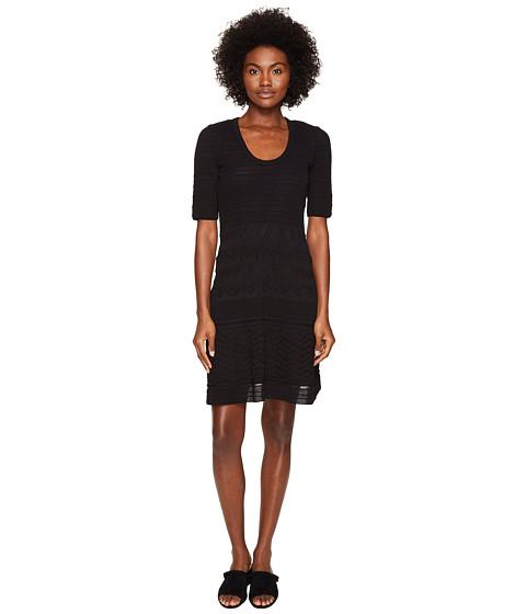 M Missoni Solid Rib Stitch Dress