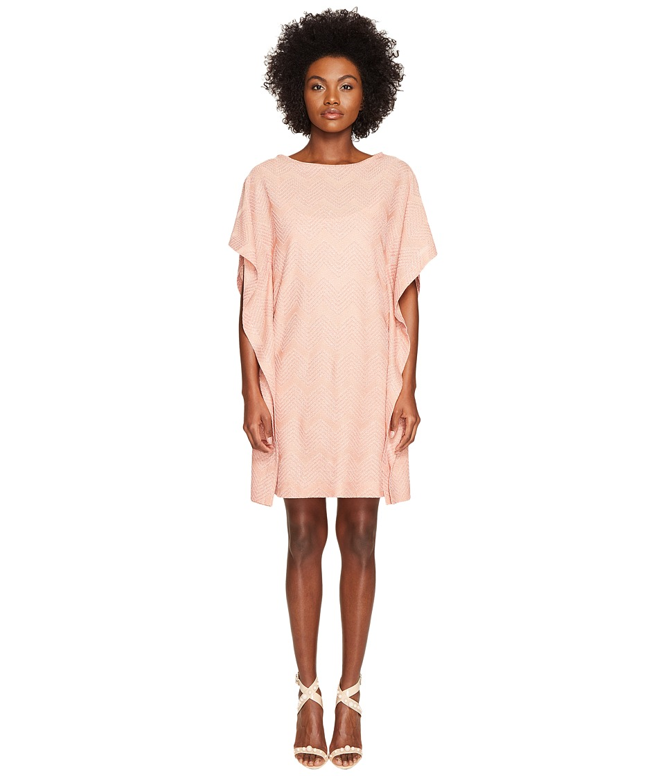 M Missoni Lurex Jersey Dress (Blush) Women
