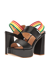 LOVE Moschino - Rainbow Strap Chunky Heels