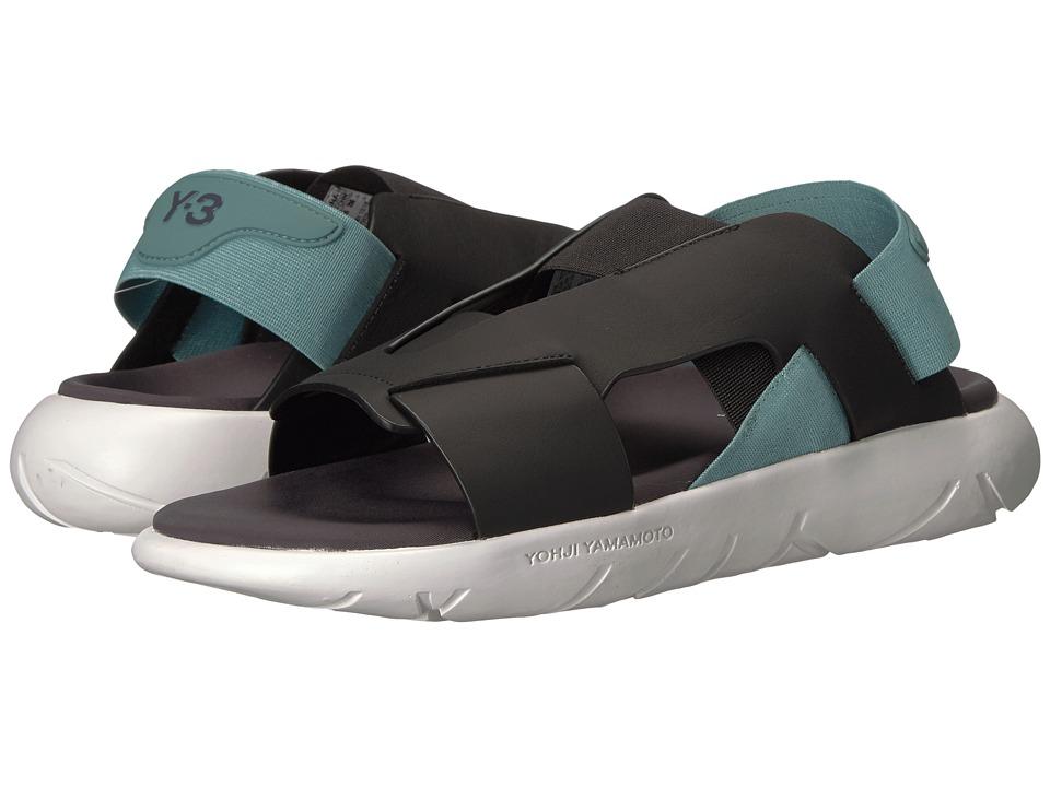 adidas Y-3 by Yohji Yamamoto Y-3 Qasa Elle Stretch Sandal (Utility Black/Vapour Steel/Crystal White) Women