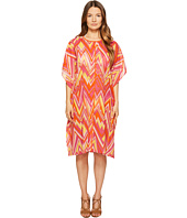 M Missoni - Retro Zigzag Cotton Voile Cover-Up