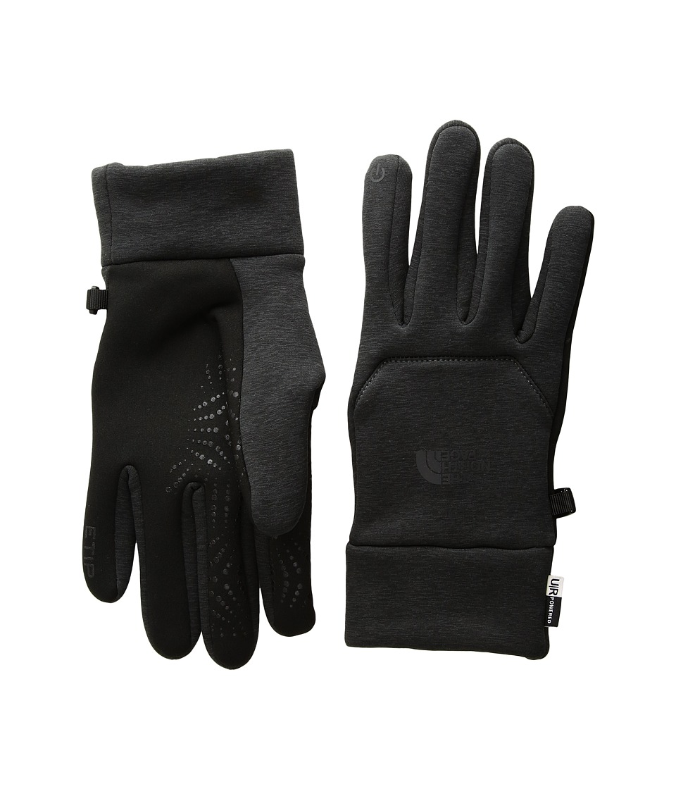 The North Face Etip Hardface Gloves (Asphalt Grey Heather Print) Extreme Cold Weather Gloves