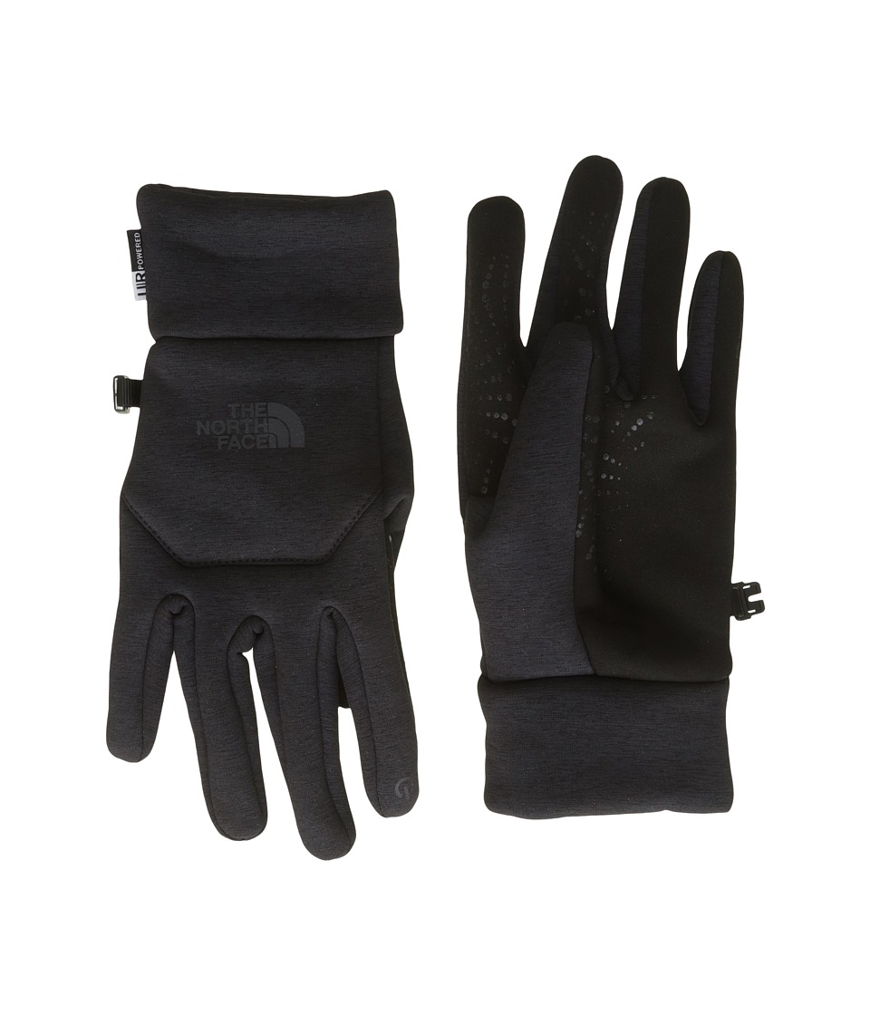 The North Face Etip Hardface Gloves (TNF Black Heather Print) Extreme Cold Weather Gloves