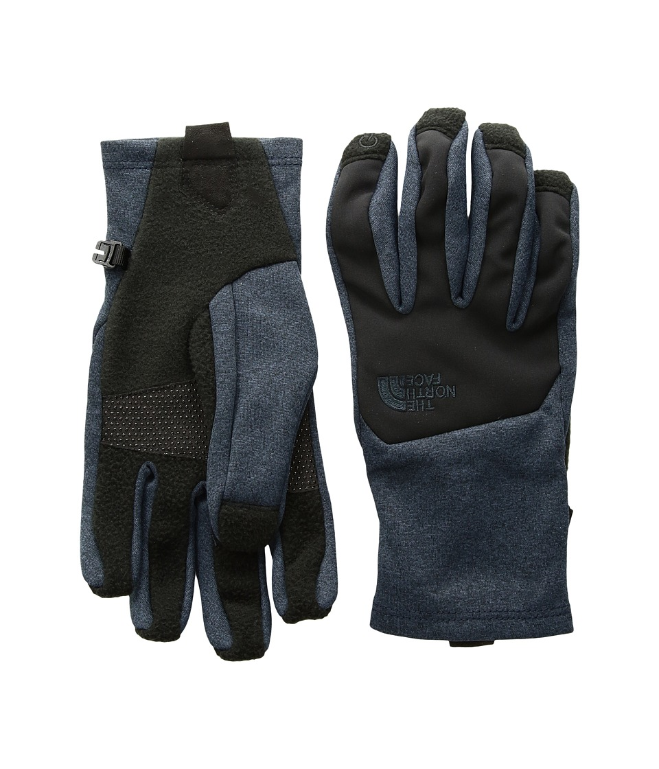 The North Face Canyon Wall Etip Gloves (Urban Navy Dark Heather) Extreme Cold Weather Gloves