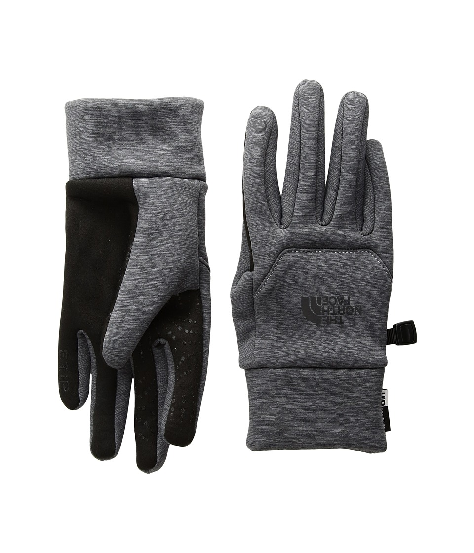 The North Face Etip Hardface Gloves (TNF Medium Grey Heather Print) Extreme Cold Weather Gloves